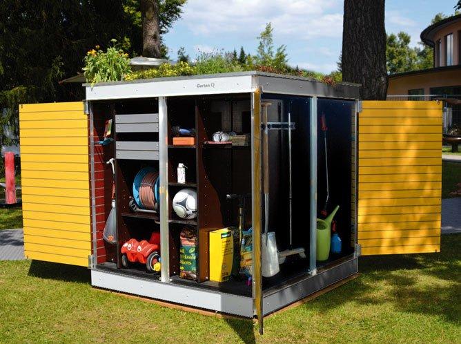 cabane de jardin moderne · Abrisdejardinmoderndesign